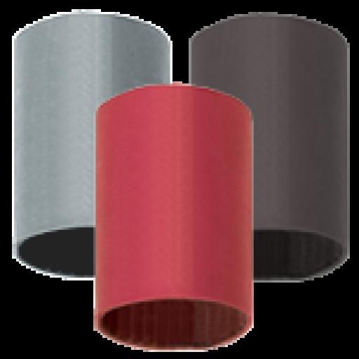 "Quick Cable FlexTube heatshrink 1.5"" long-Clear-1/4"""