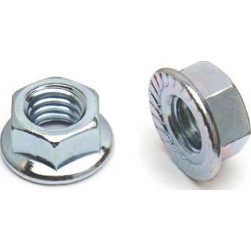 """6708-360-002 QUICK CABLE Steel Nut, 2 Pack, Stud 3/8 to 16"""", Bolt Connection"""
