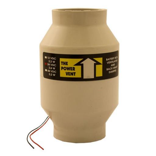 Zephyr Industries Battery Bank Power Vent-24vdc