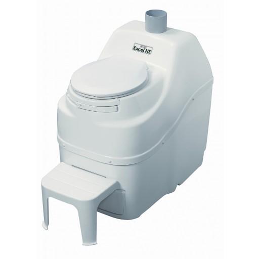 Excel NE Composting Toilet: White