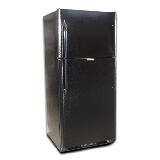 EZ Freeze EZ-21B Propane Refrigerator: Black
