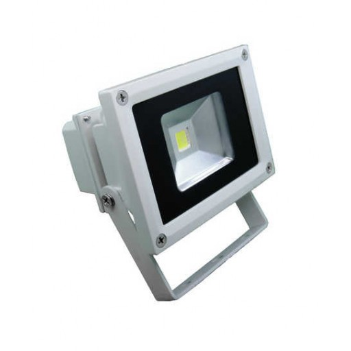 Central Lighting 800 Lumen Outdoor LED Flood Light, 10 watt, 120V