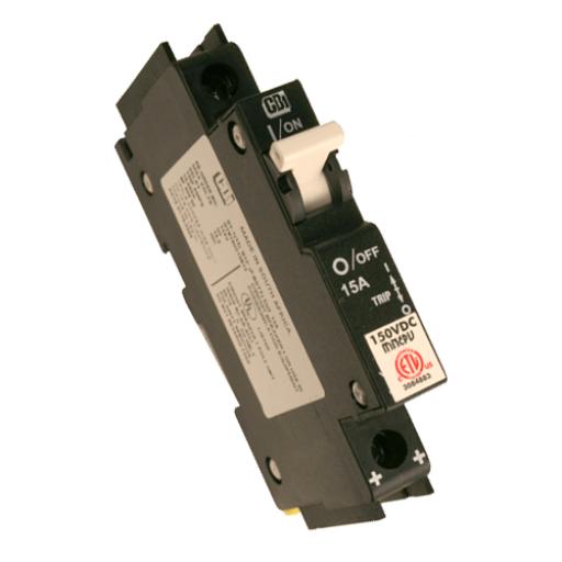 MidNite Solar 60 Amp PV Breaker (15A pictured)