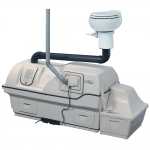 Centrex 3000 Central-Composter with 1 Pint Flush Toilet