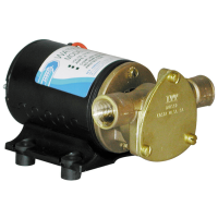 Jabsco 18660-0121 12V Water Puppy Bronze Utility Pump