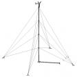Bergey XL1 60' tilt-up guyed tubular tower