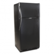 EZ Freeze 19cf Propane Refrigerator: Black